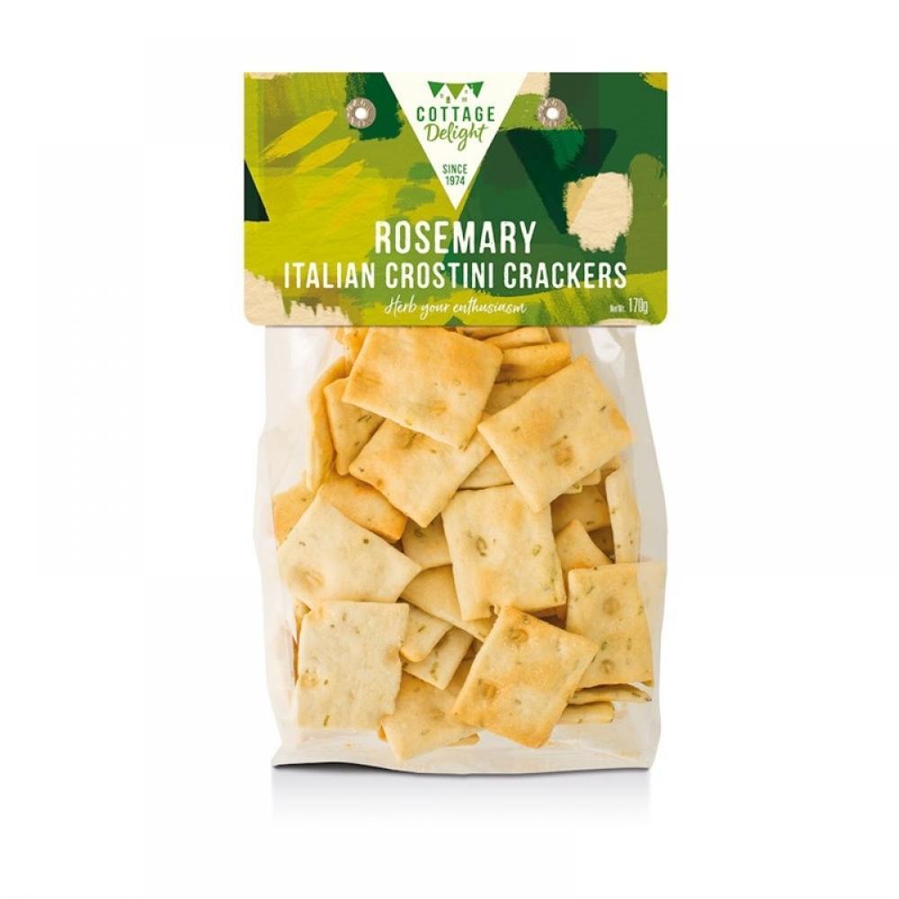 Cottage Delight Rosemary Italian Crostini Crackers 170g