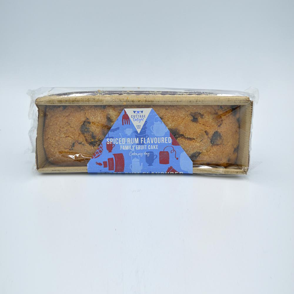 Cottage Delight Spiced Rum Flavoured Family Fruit Cake