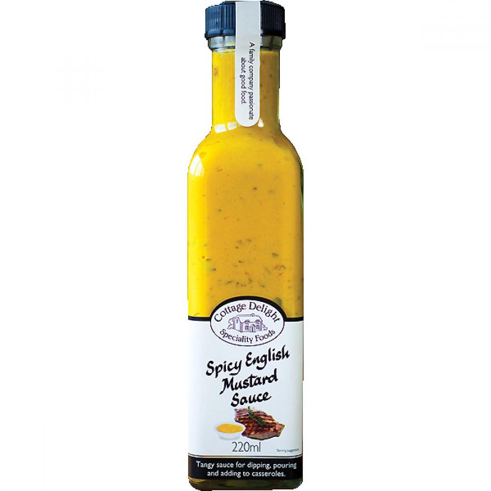 Cottage Delight Spicy English Mustard Sauce 220ml