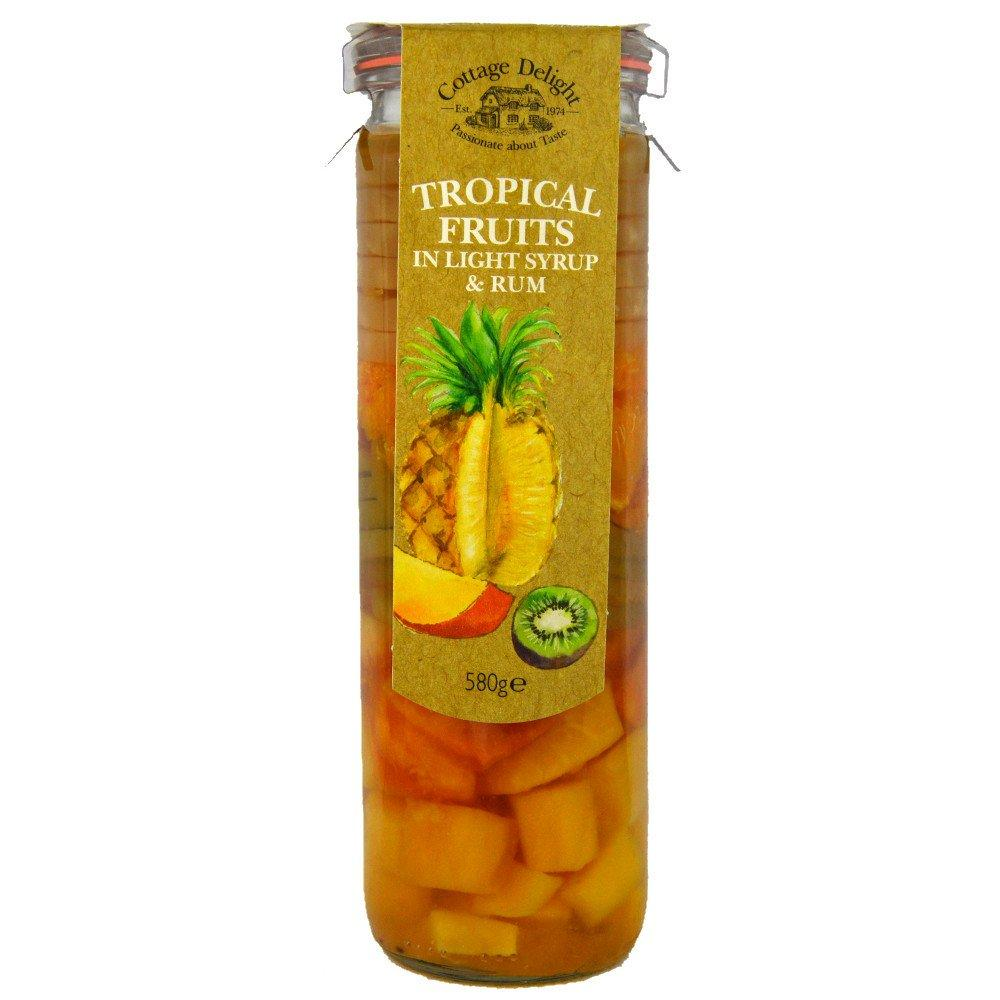 Cottage Delight Tropical Fruit in Light Syrup and Rum 580g