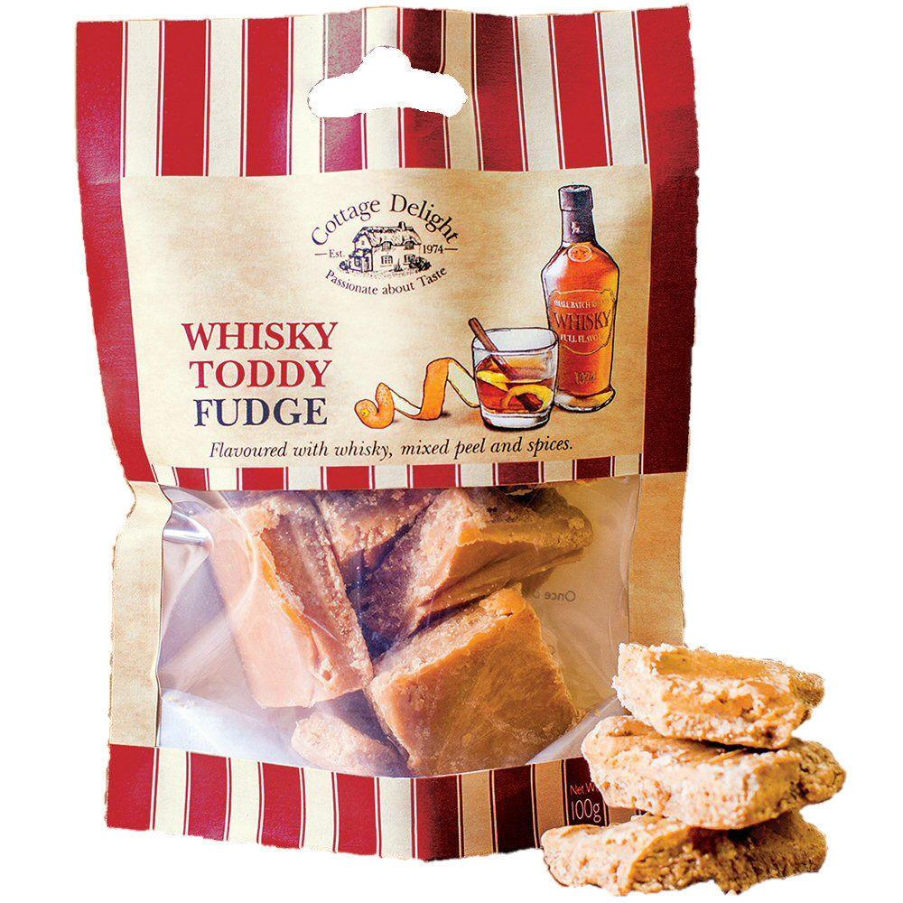 Cottage Delight Whisky Toddy Fudge 100g