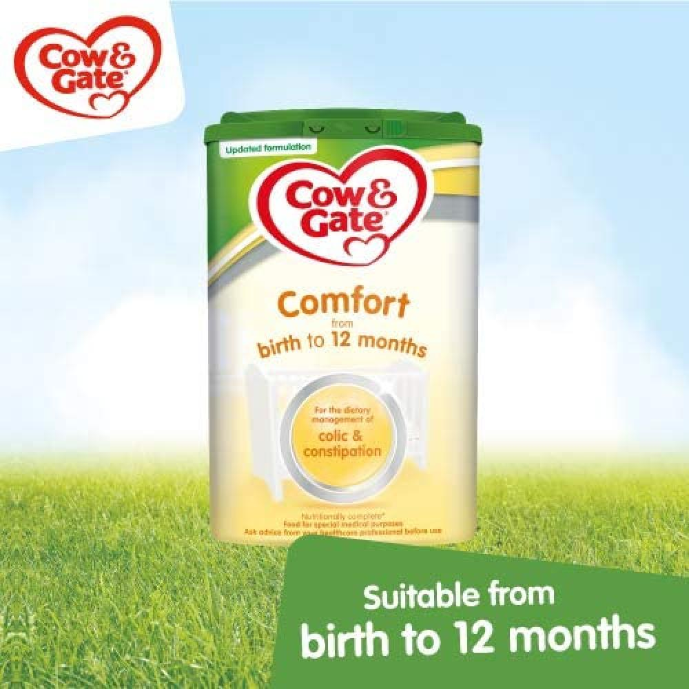 Cow and Gate Comfort from birth to 12 months 800g