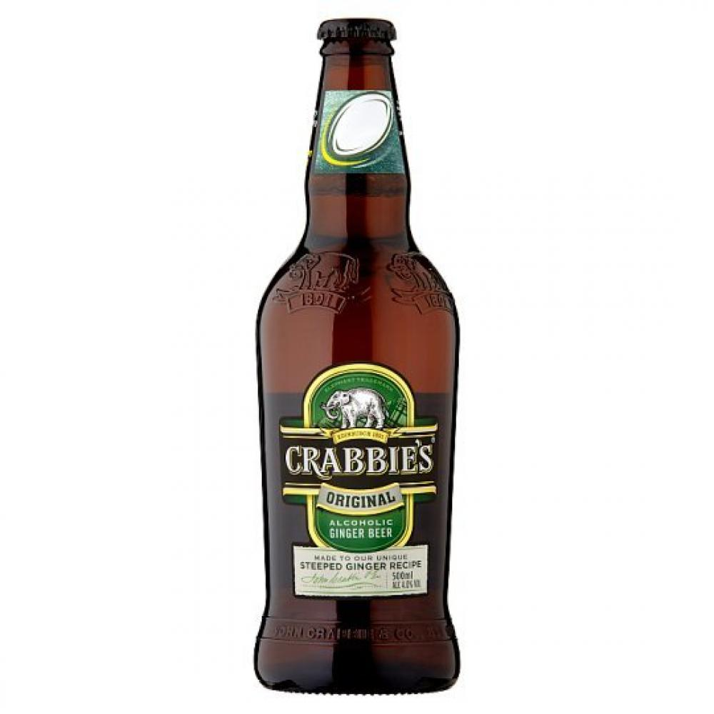 Crabbies Alcholic Ginger Beer 500ml