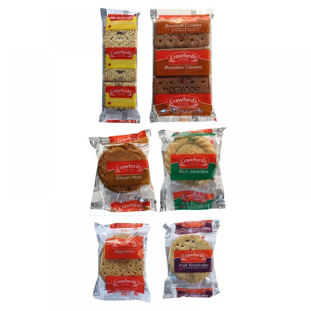 Crawfords 6 Varieties Biscuit Mini Pack Lucky Dip 23-40 g