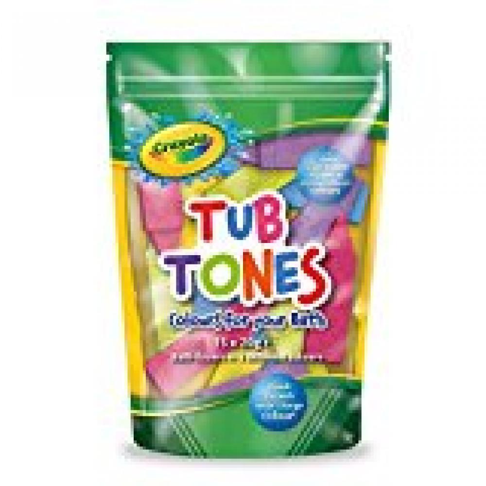 Crayola Tub Tones 15 X10 G Approved Food