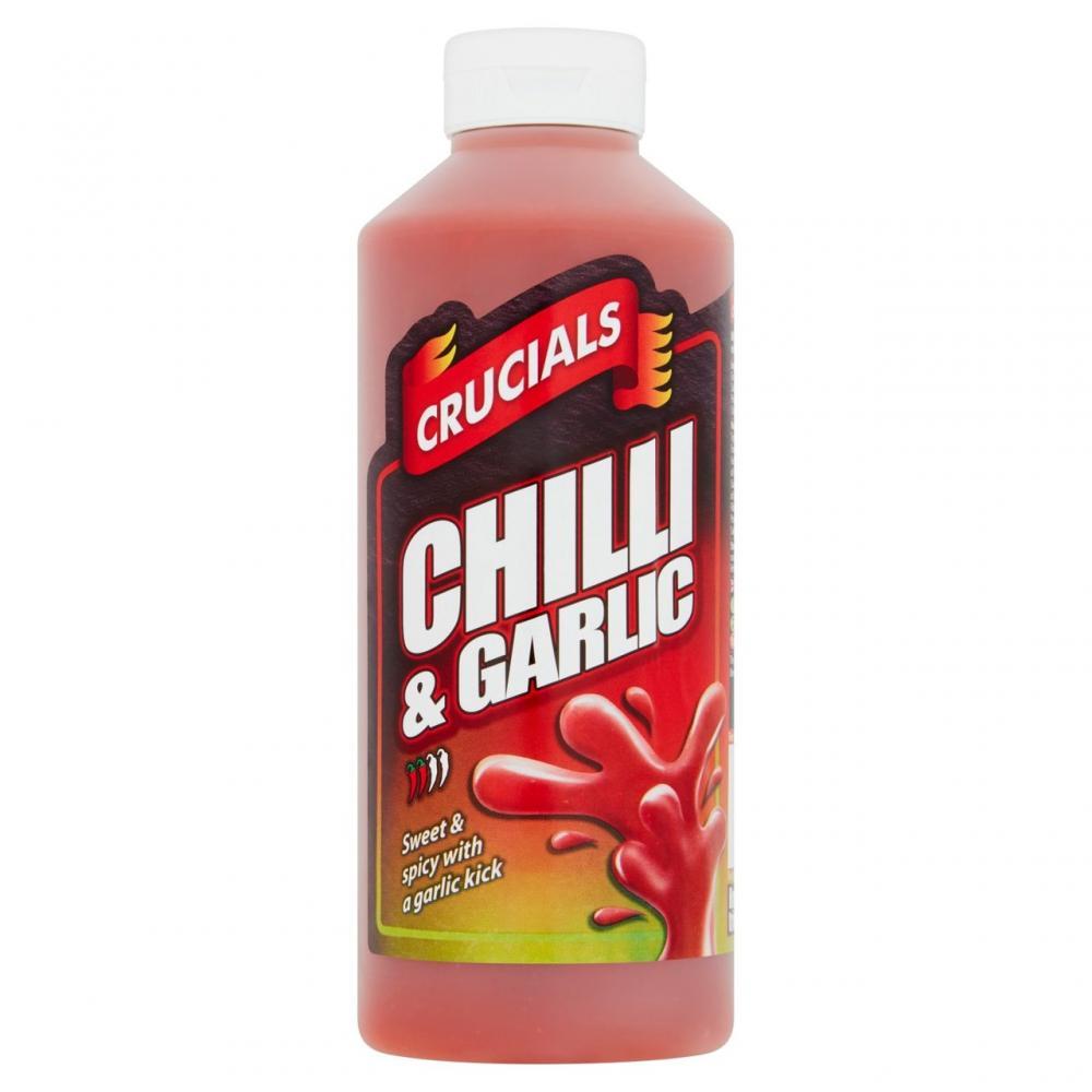 Crucials Chilli and Garlic Sauce 500ml