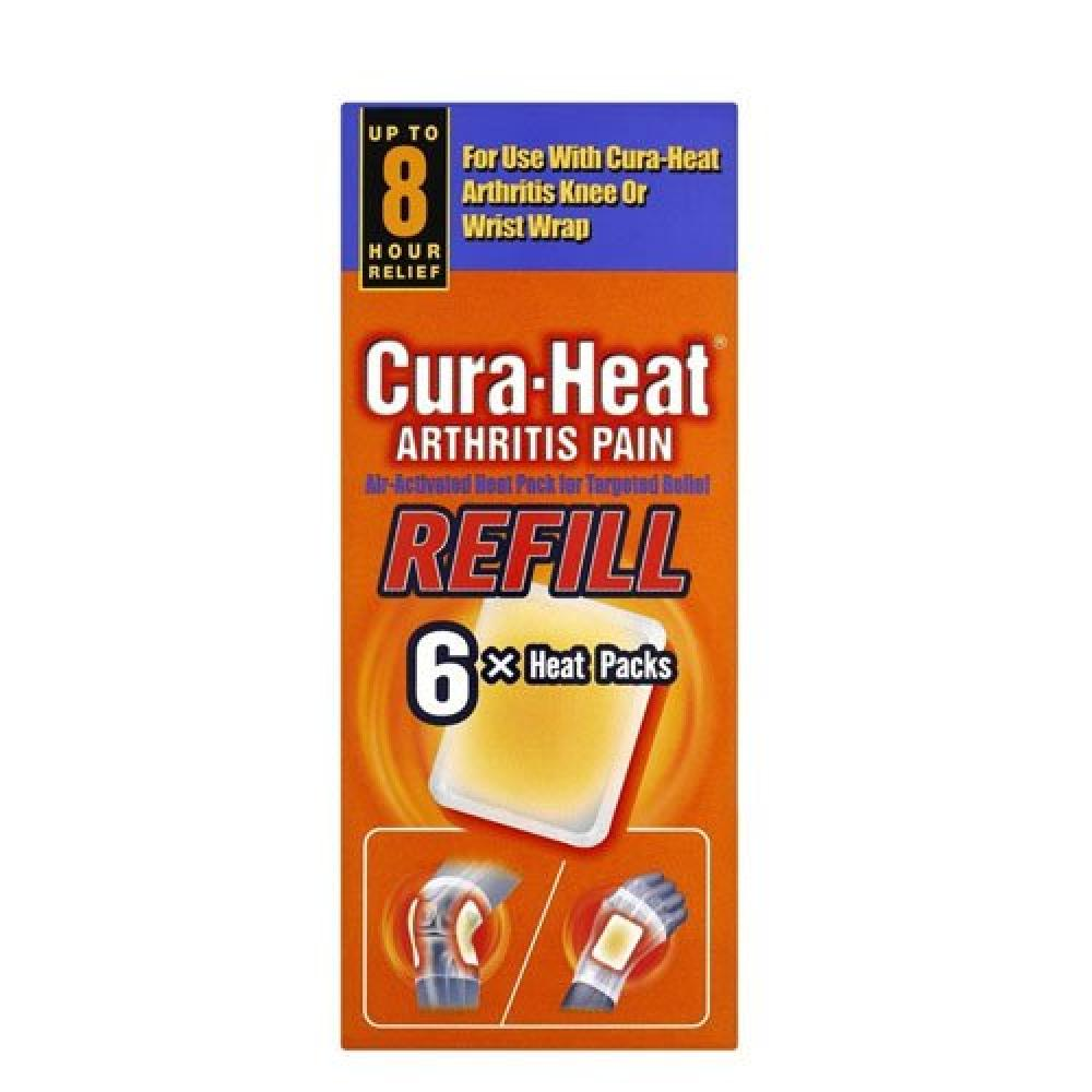 Cura Heat Arthritis Pain Refill 6 Pack