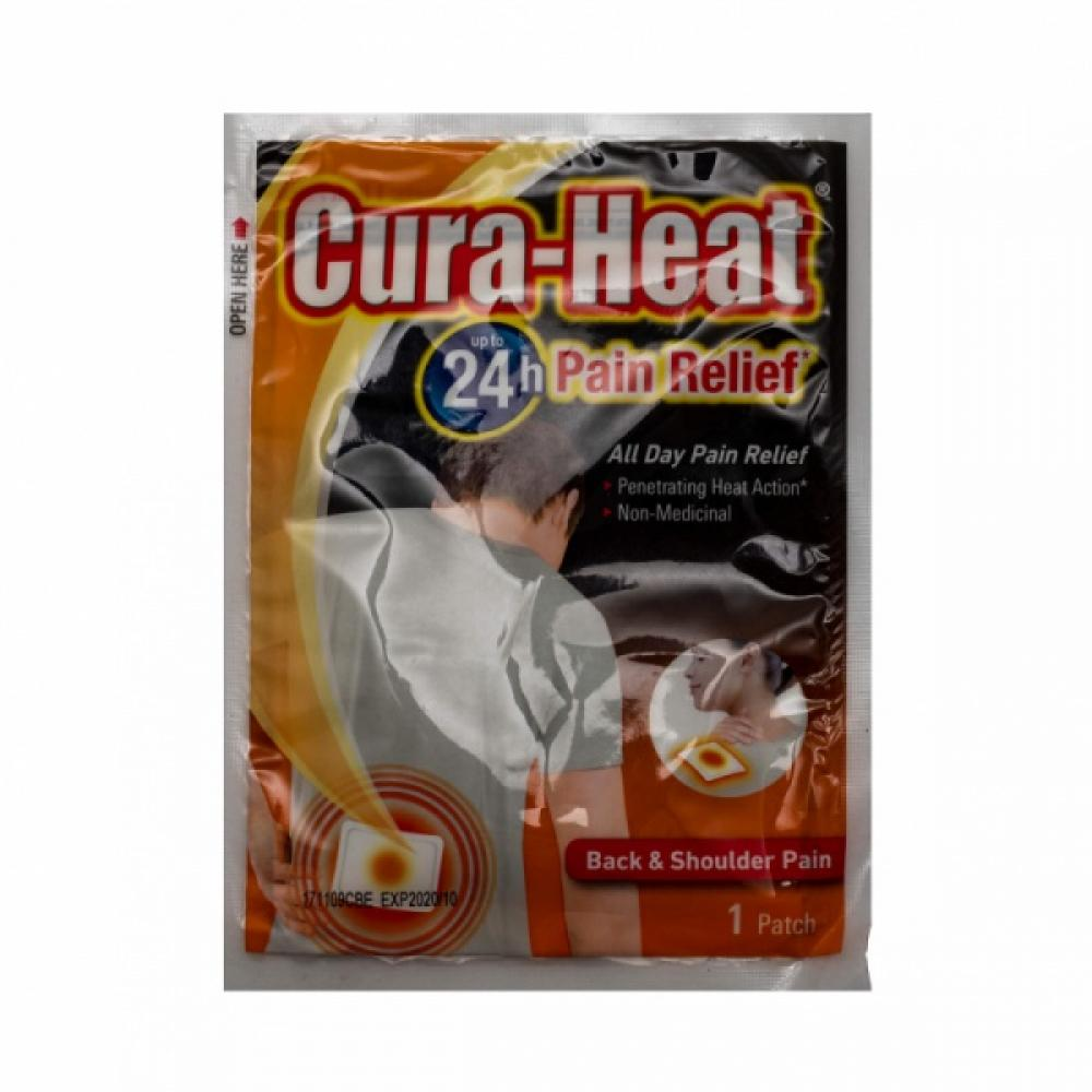 Cura Heat Back And Shoulder Pain 1 Patch