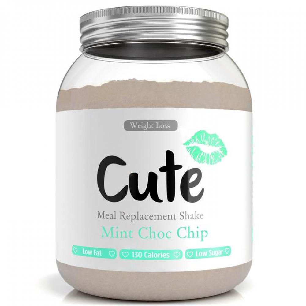 Cute Nutrition Mint Chocolate Meal Replacement Shakes for Weight Loss 500 g