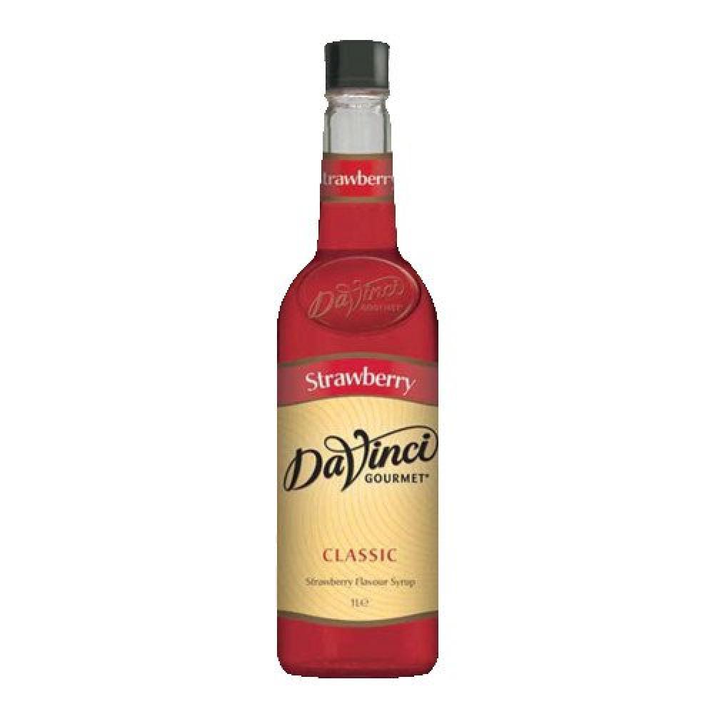 Da Vinci Strawberry Syrup 1L