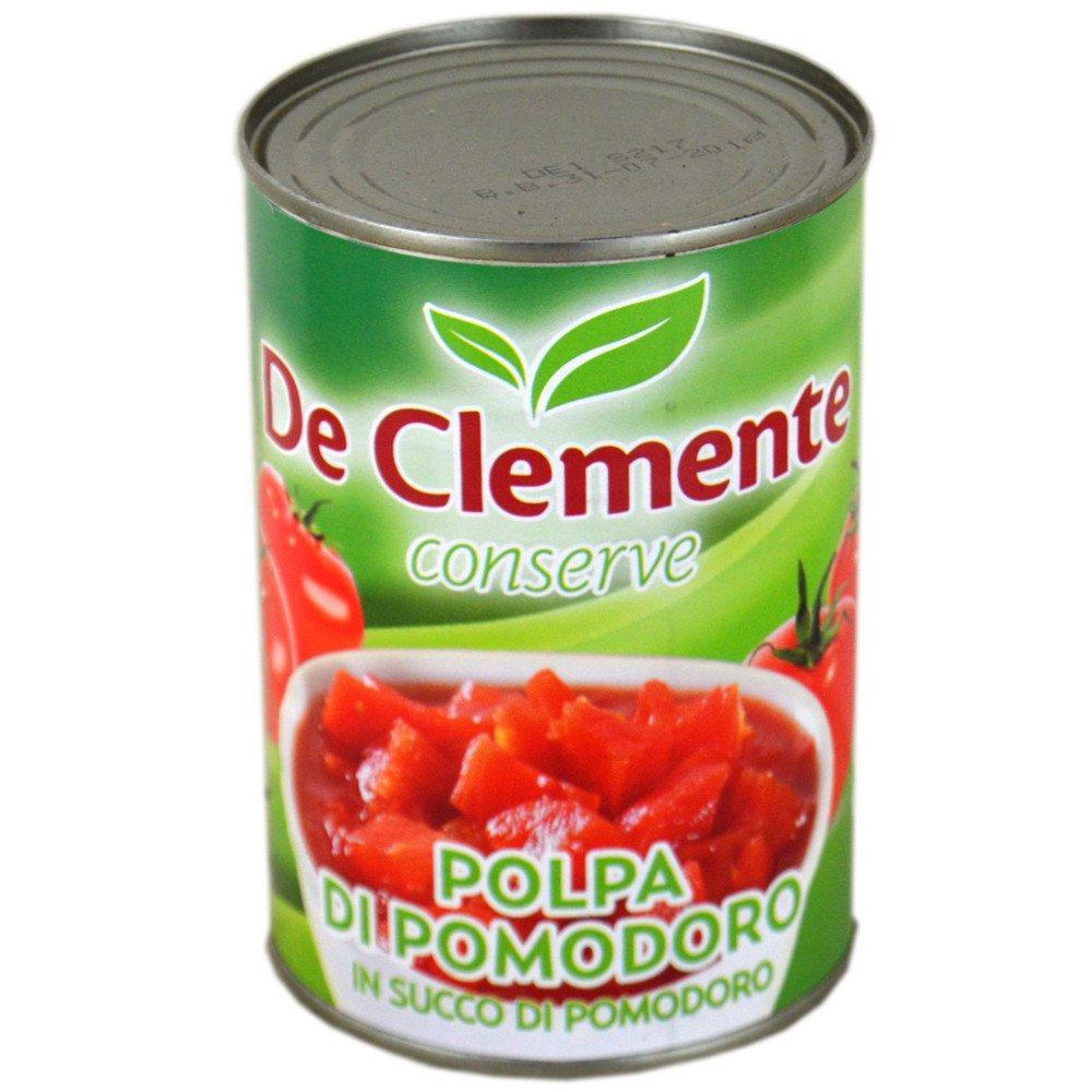 De Clemente Tomato Pulp in Tomato Juice 400g