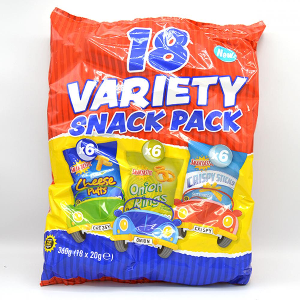 De Identified 18 Variety Snack Pack