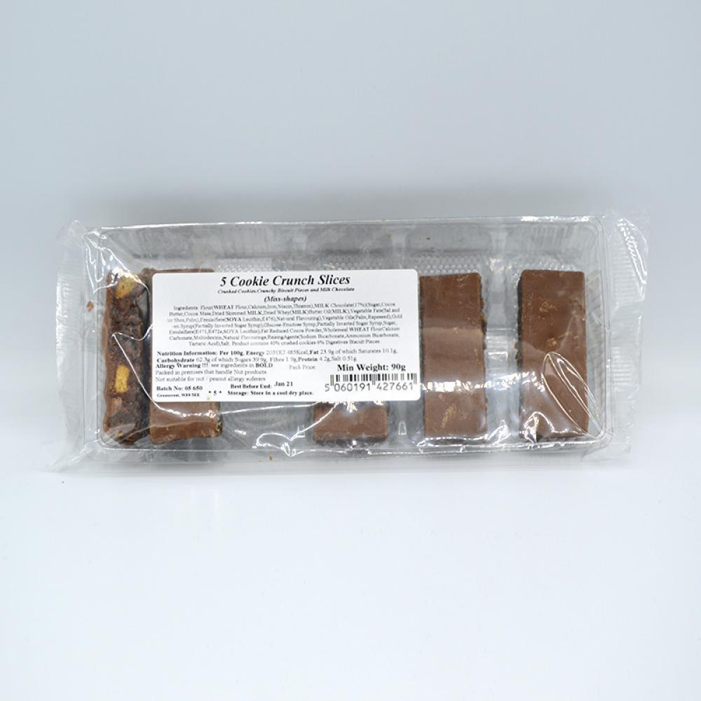 De Identified 5 Cookie Crunch Slices