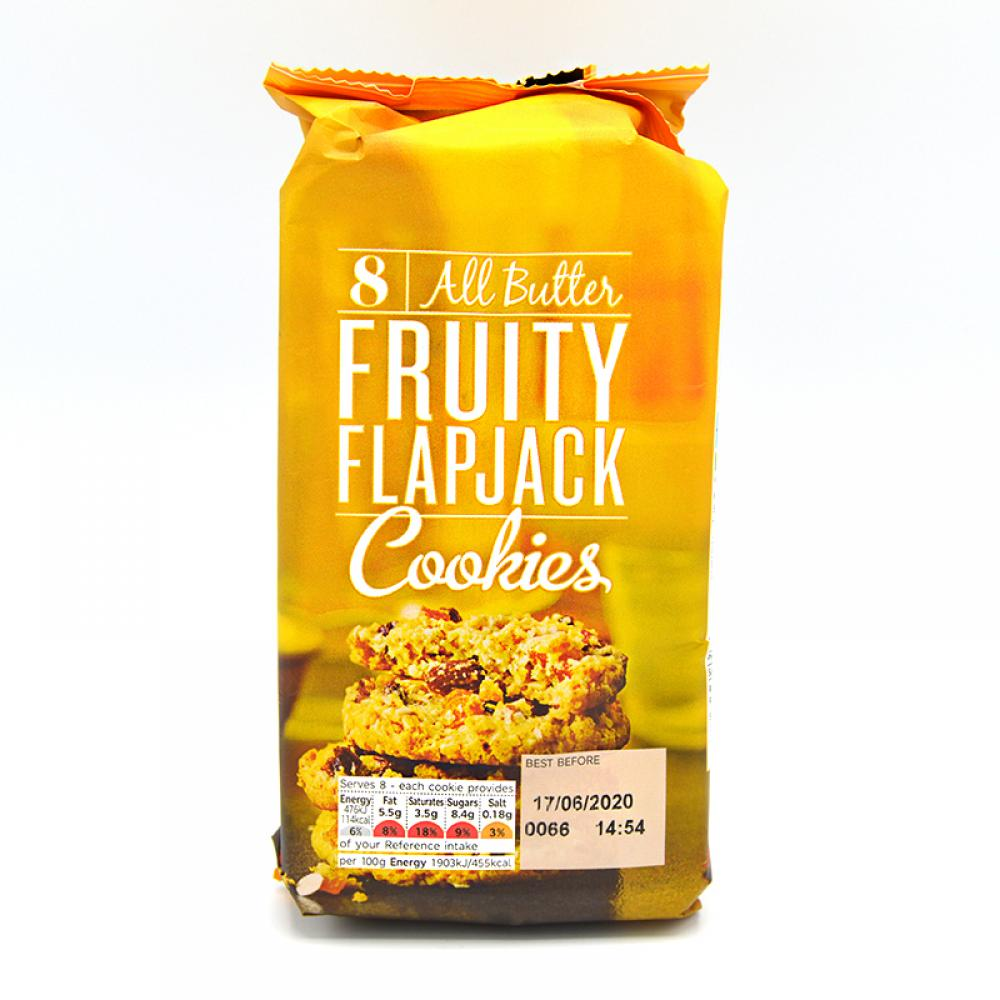 De Identified All Butter Fruity Flapjack Cookies 200g
