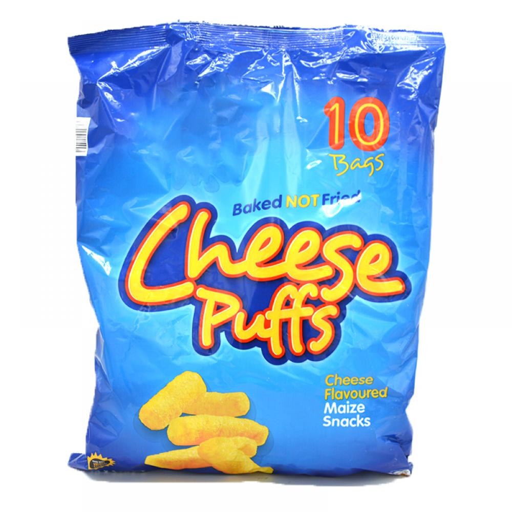 De Identified Cheese Puffs 10 x 17g