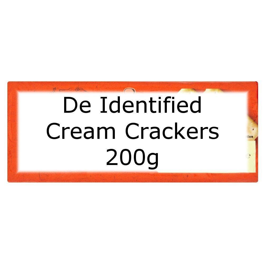 De Identified Cream Crackers 200g