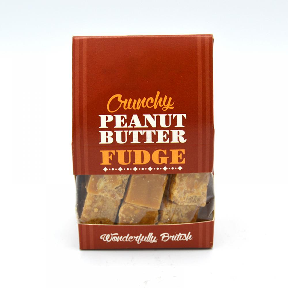 De Identified Crunchy Peanut Butter Fudge 150g