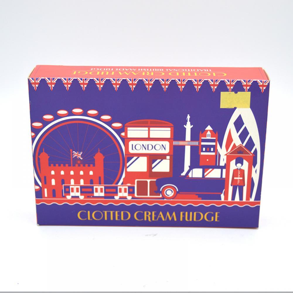 De Identified London Clotted Cream Fudge 150g