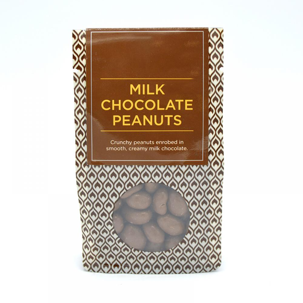 De Identified Milk Chocolate Peanuts 100g
