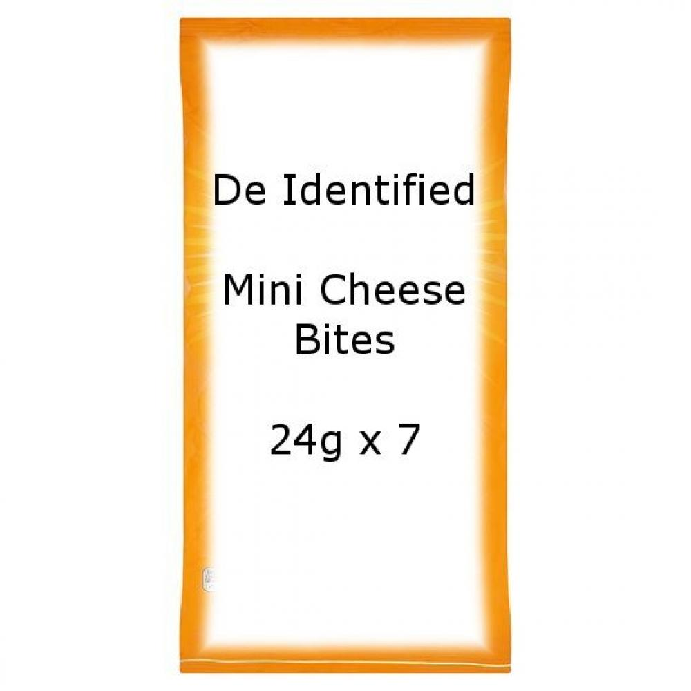 De Identified Mini Cheese Bites 24g x 7