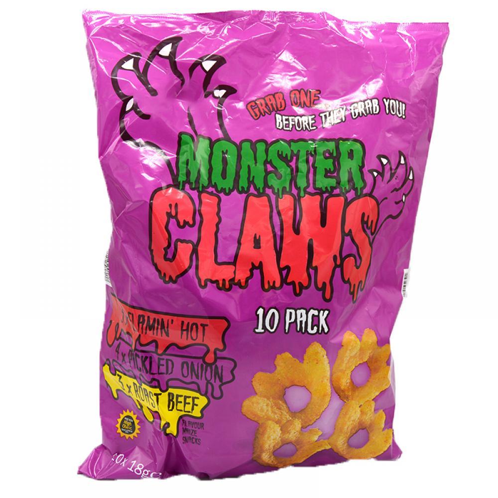 De Identified Monster Claws 10 x 18g