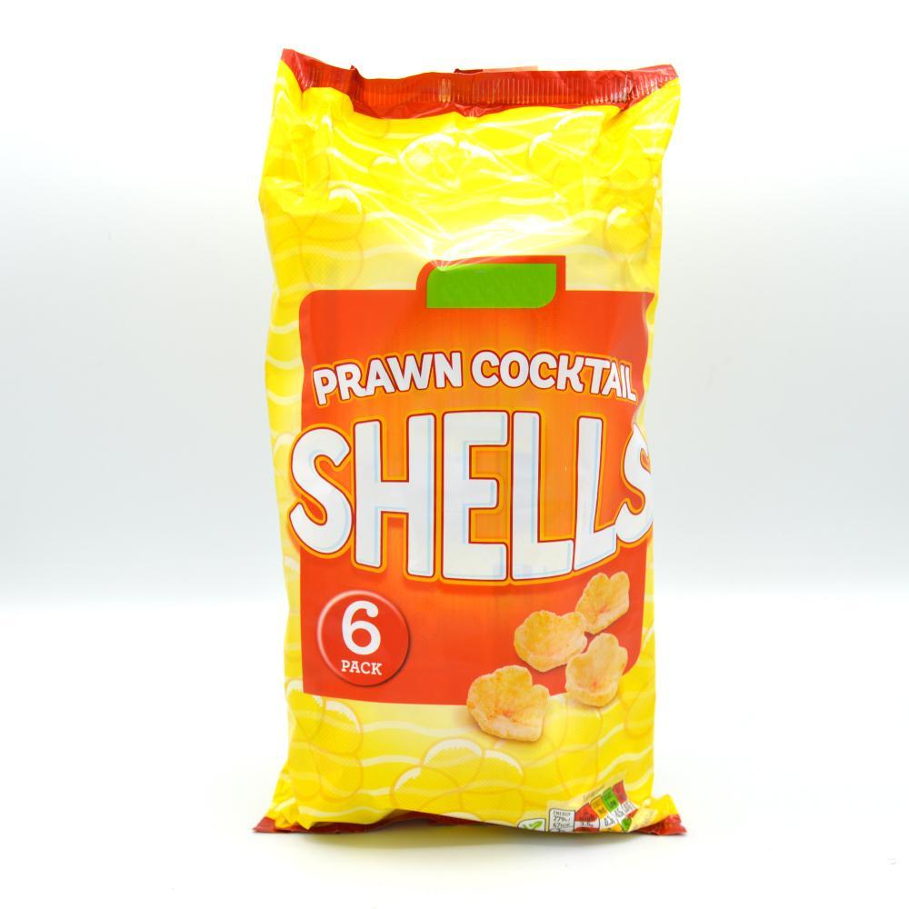 De Identified Prawn Cocktail Shells 6 x 13g
