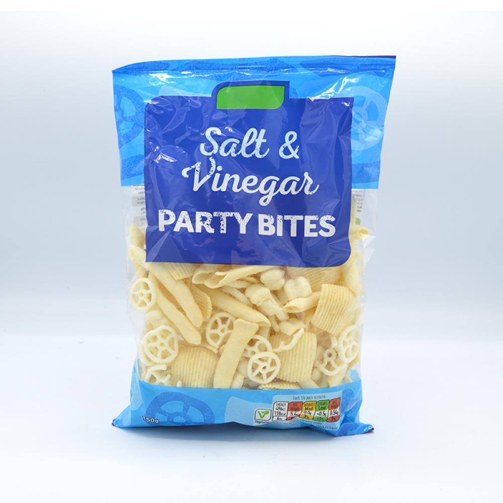 De Identified Salt and Vinegar Party Bites 150g