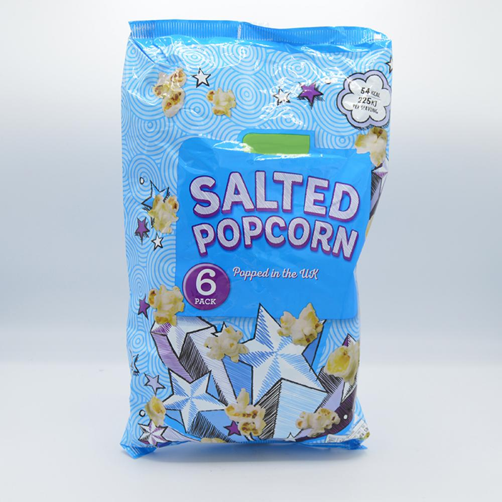 De Identified Salted Popcorn 6 Pack