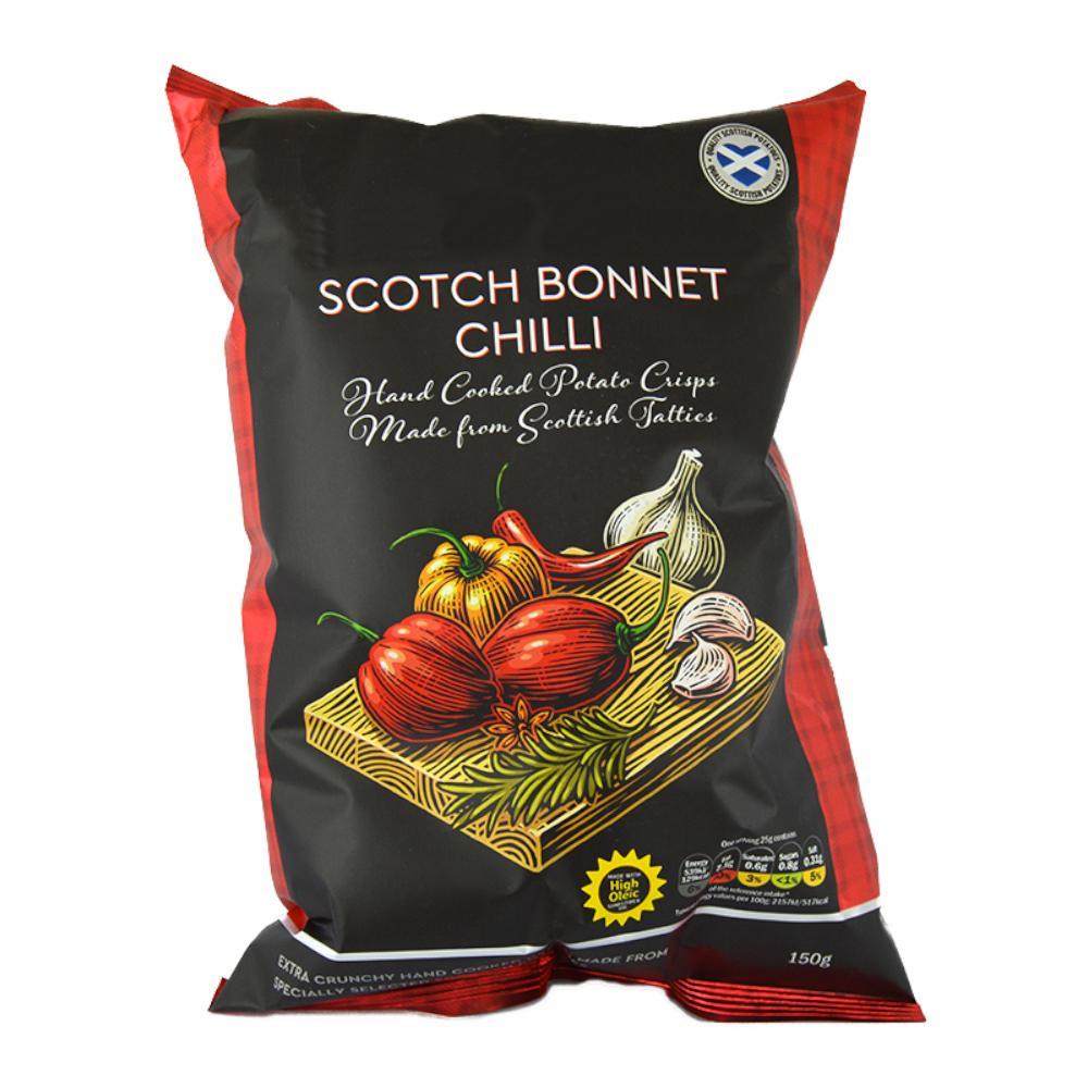 De Identified Scotch Bonnet Chilli Crisps 150g
