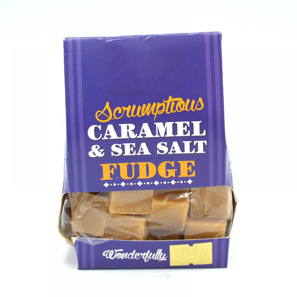 De Identified Scrumptious Caramel and Sea Salt Fudge 150g