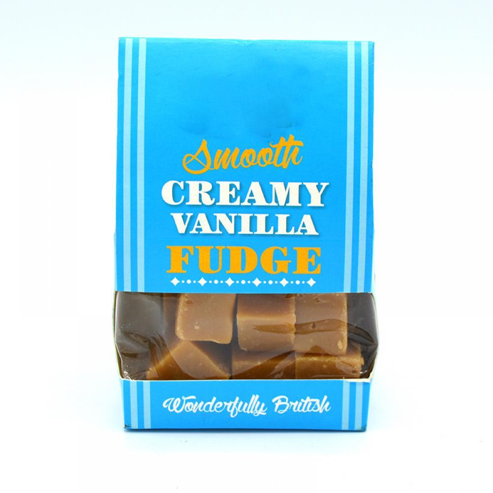 De Identified Smooth Creamy Vanilla Fudge 150g