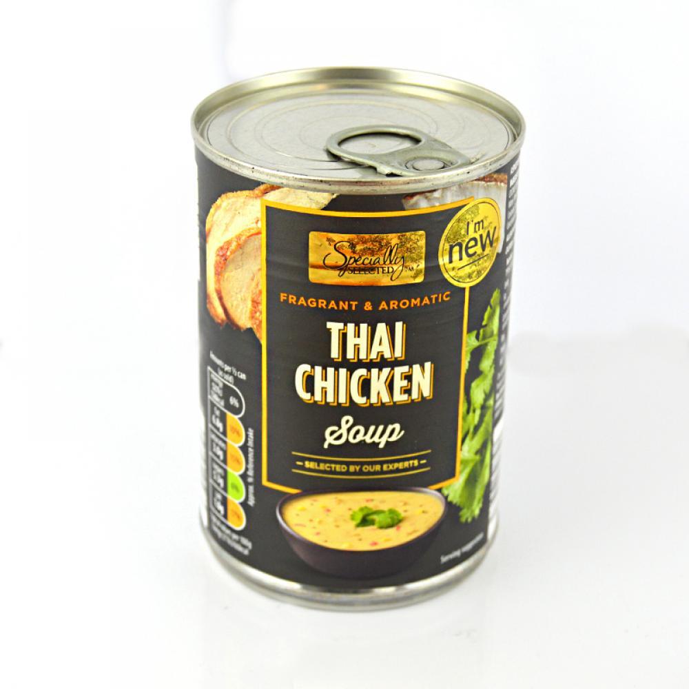 De Identified Thai Chicken Soup 380g