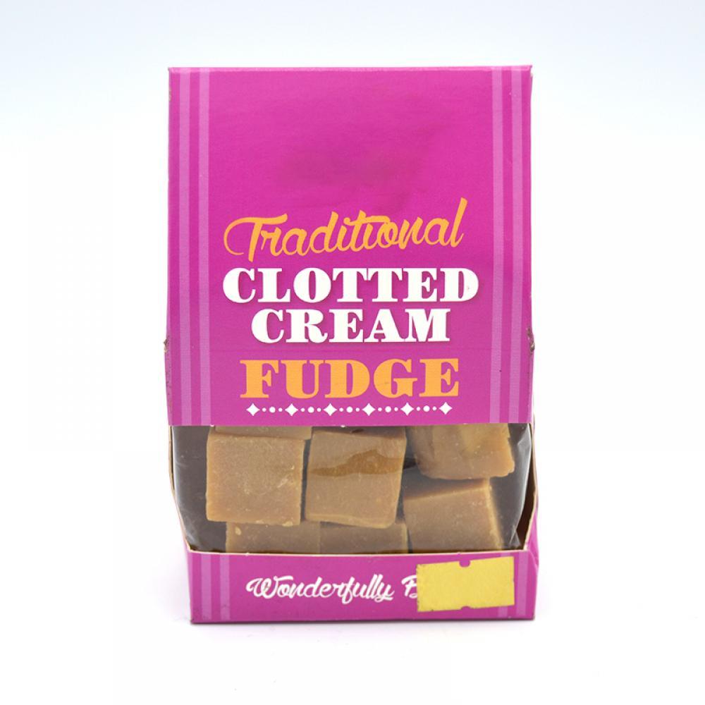 SALE  De Identified Traditional Clotted Cream Fudge 150g