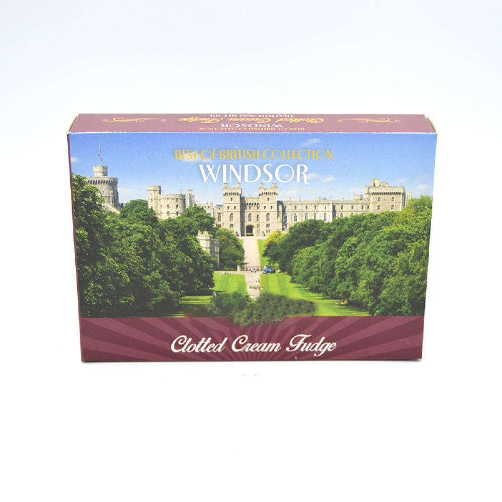 De Identified Windsor Castle Long Walk Clotted Cream Fudge 150g