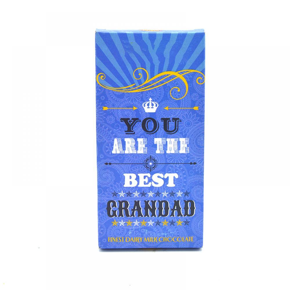 SALE  De Identified You Are The Best Grandad Milk Chocolate 80g
