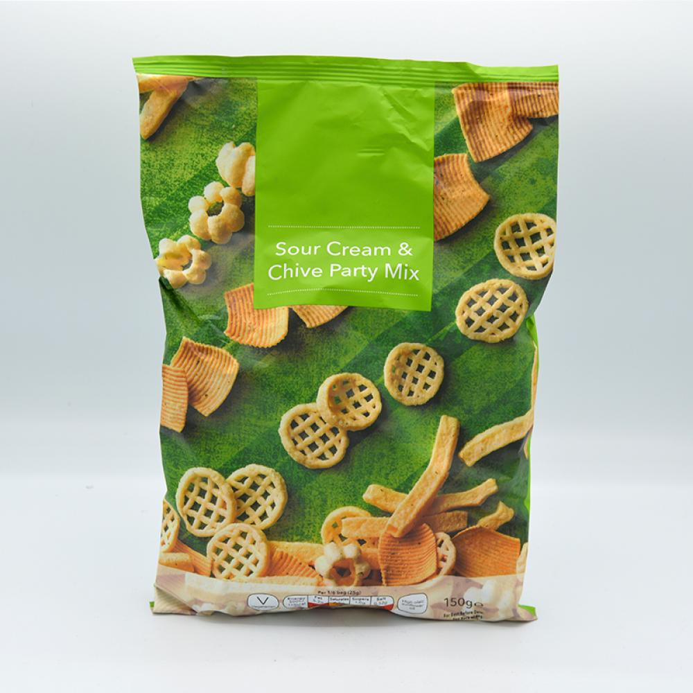 De-Identified Sour Cream and Chive Party Mix 150g