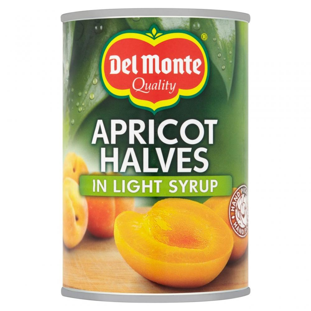 Del Monte Apricot Halves In Light Syrup 420g