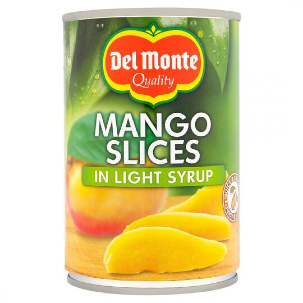 Del Monte Mango Slices In Light Syrup 425g