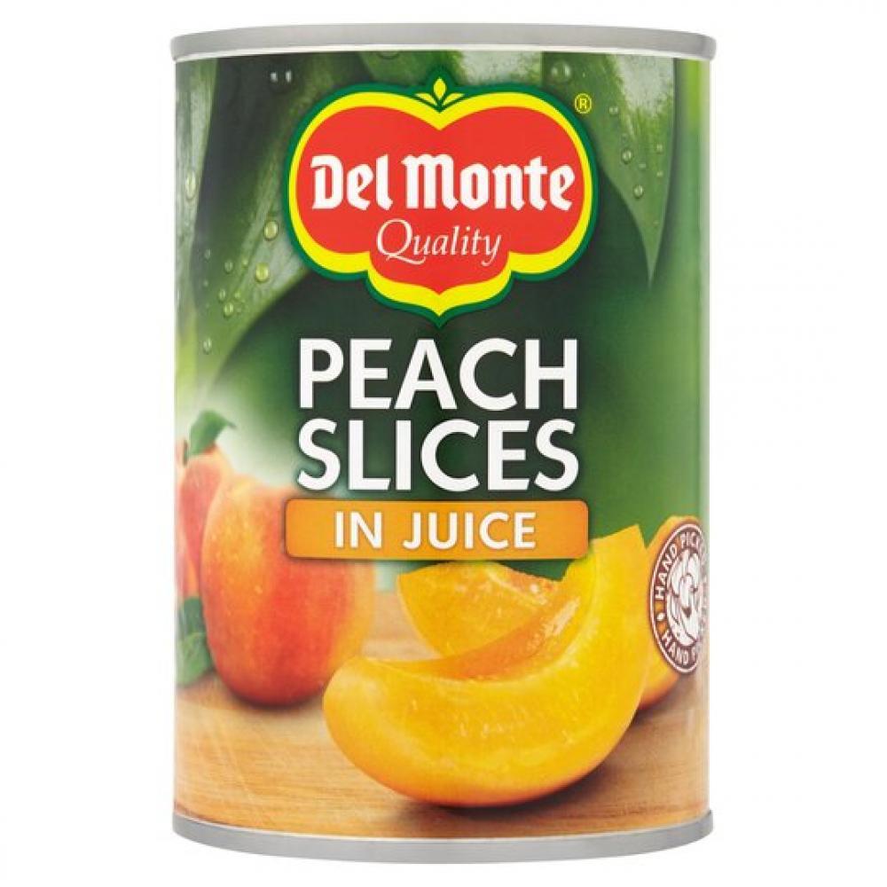 Del Monte Peach Slices In Juice 415g