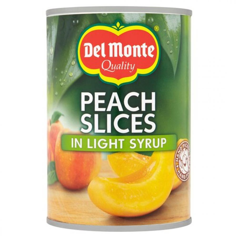 Del Monte Peach Slices In Light Syrup 420g