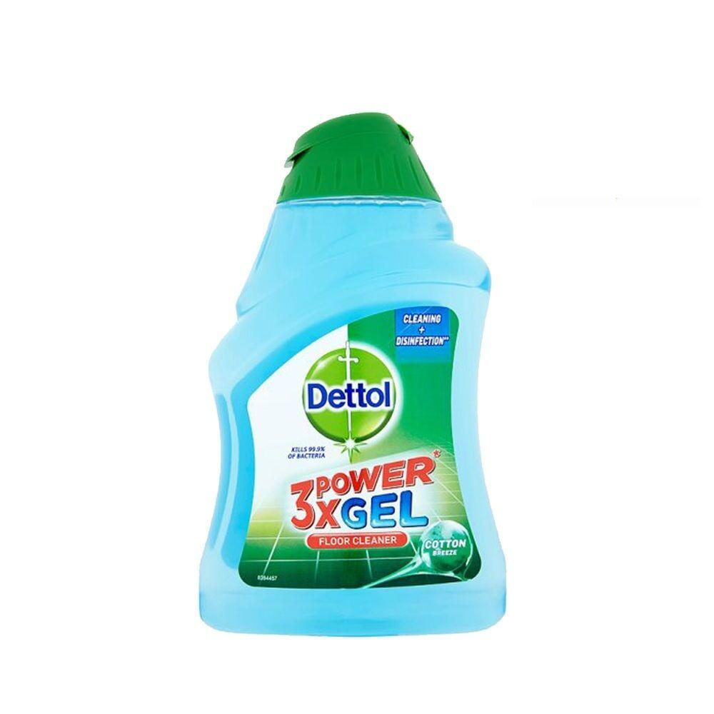 Dettol 3x Power Gel Floor Cleaner Cotton Breeze 400ml