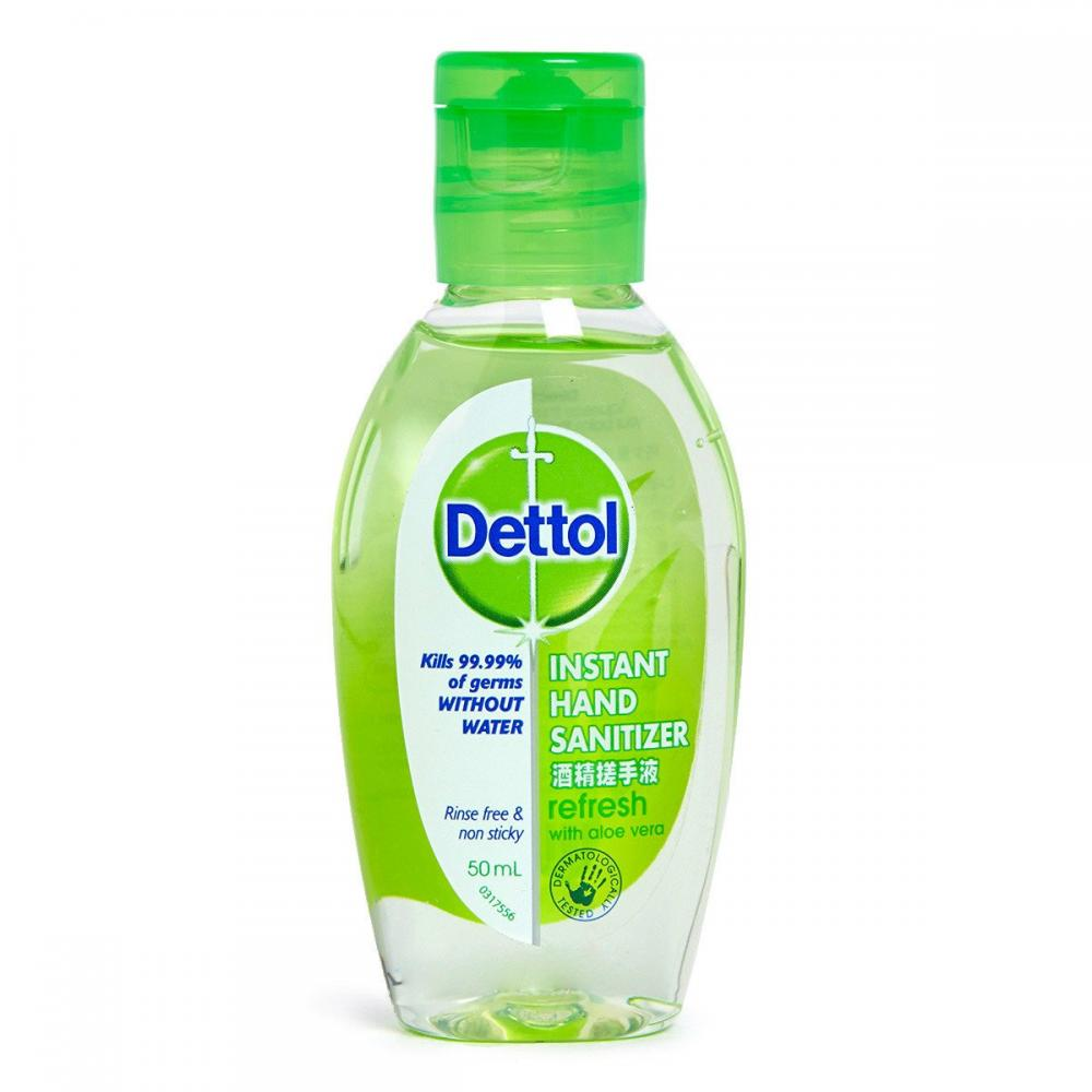 Dettol Anti-Bacterial Hand Gel Aloe Vera 50 ml