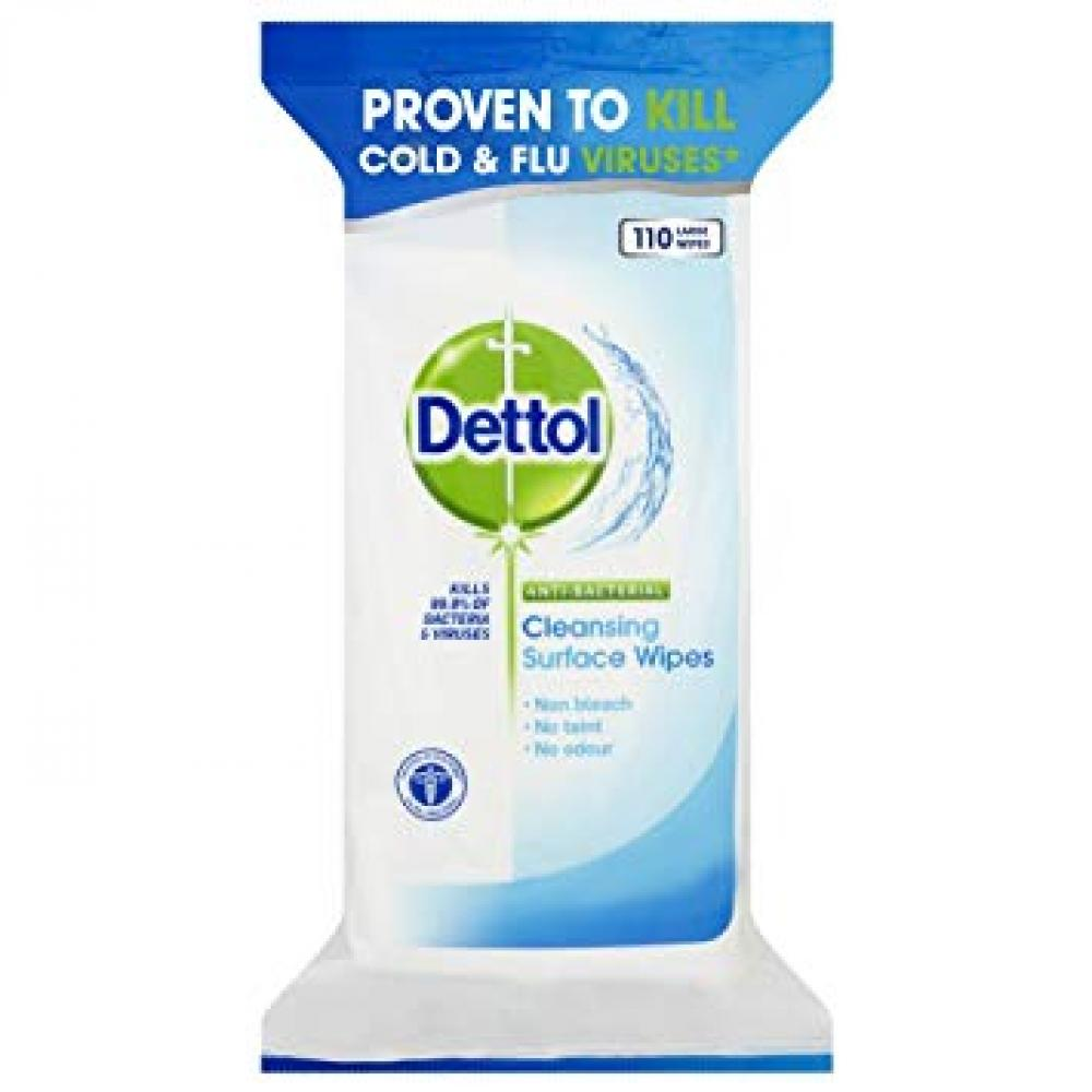 Dettol Anti-Bacterial Surface Cleaning Wipes (126 Large Wipes)