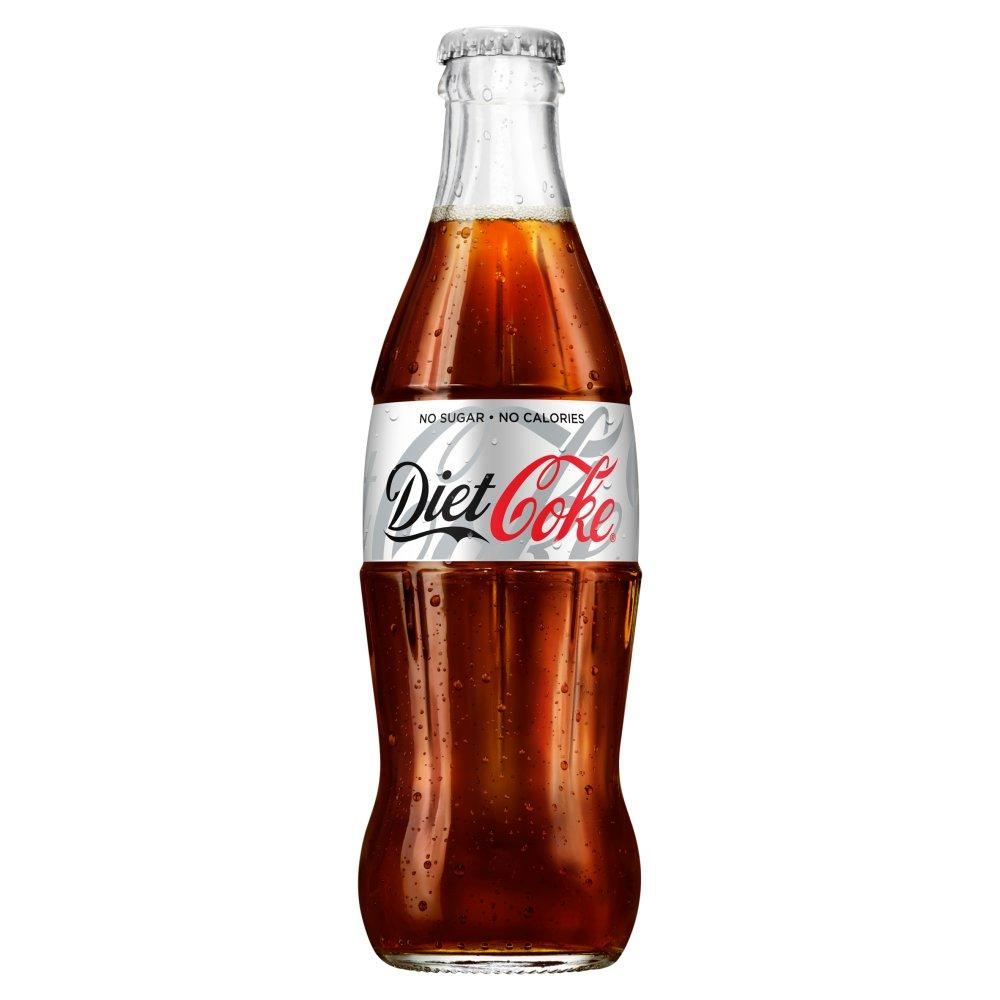 Diet Coke Glass Bottle 330ml