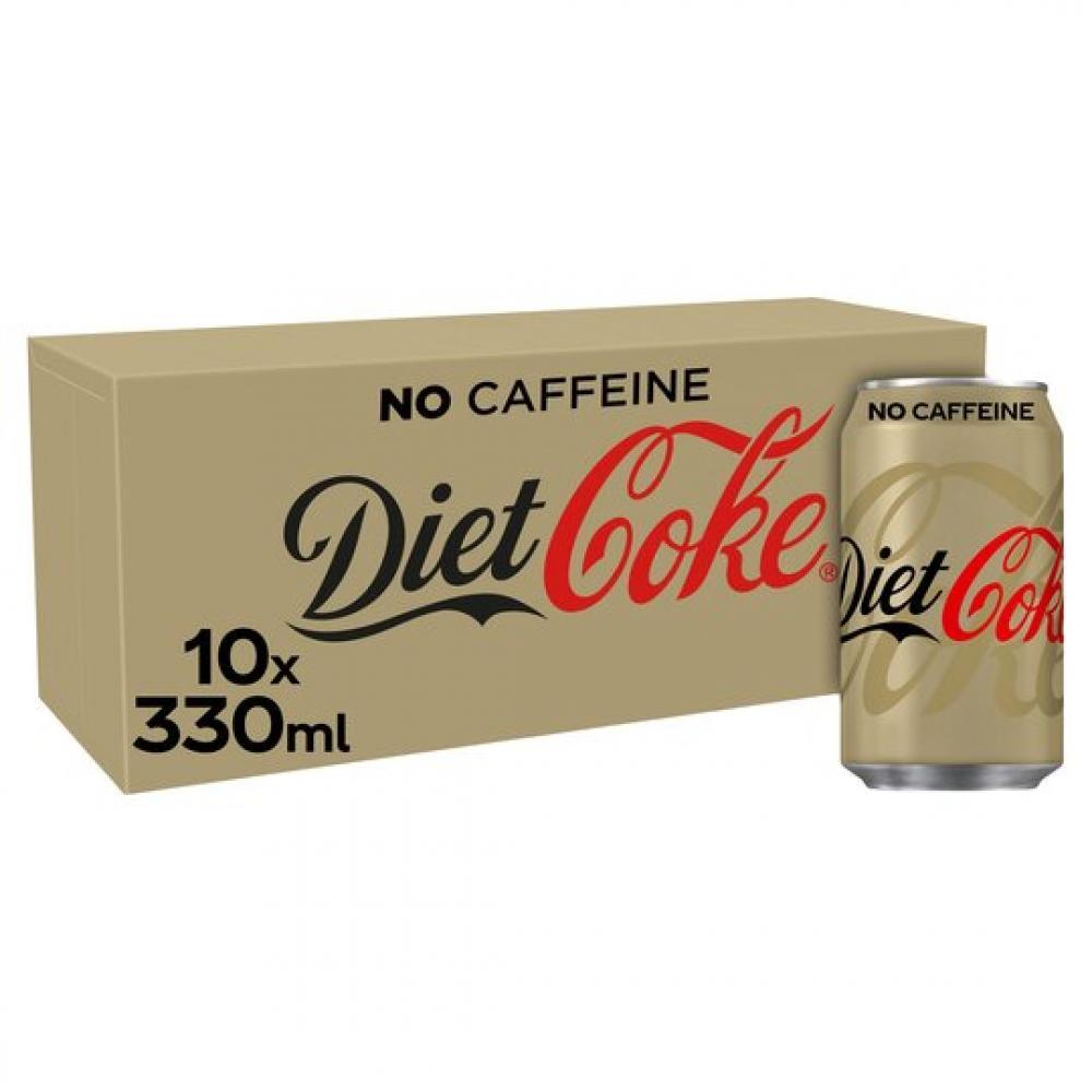 Diet Coke No Caffeine 10 x 330ml