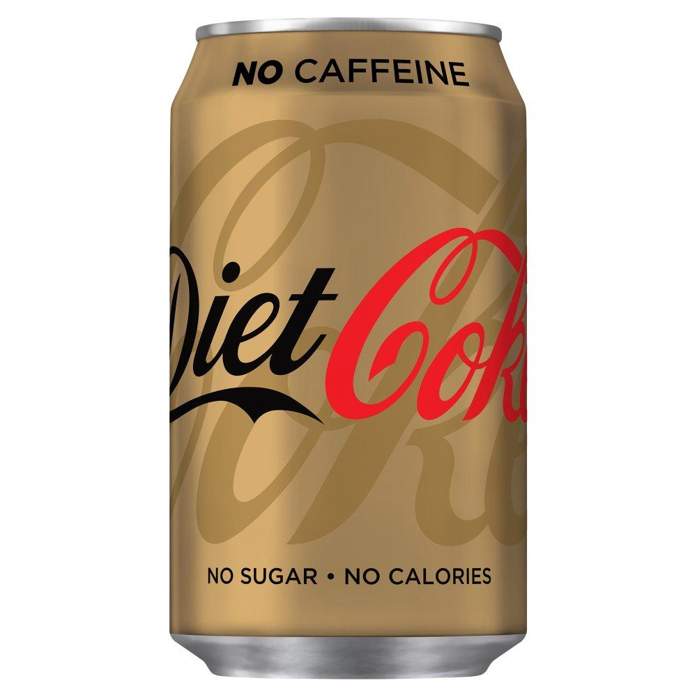 Diet Coke No Caffeine 330ml