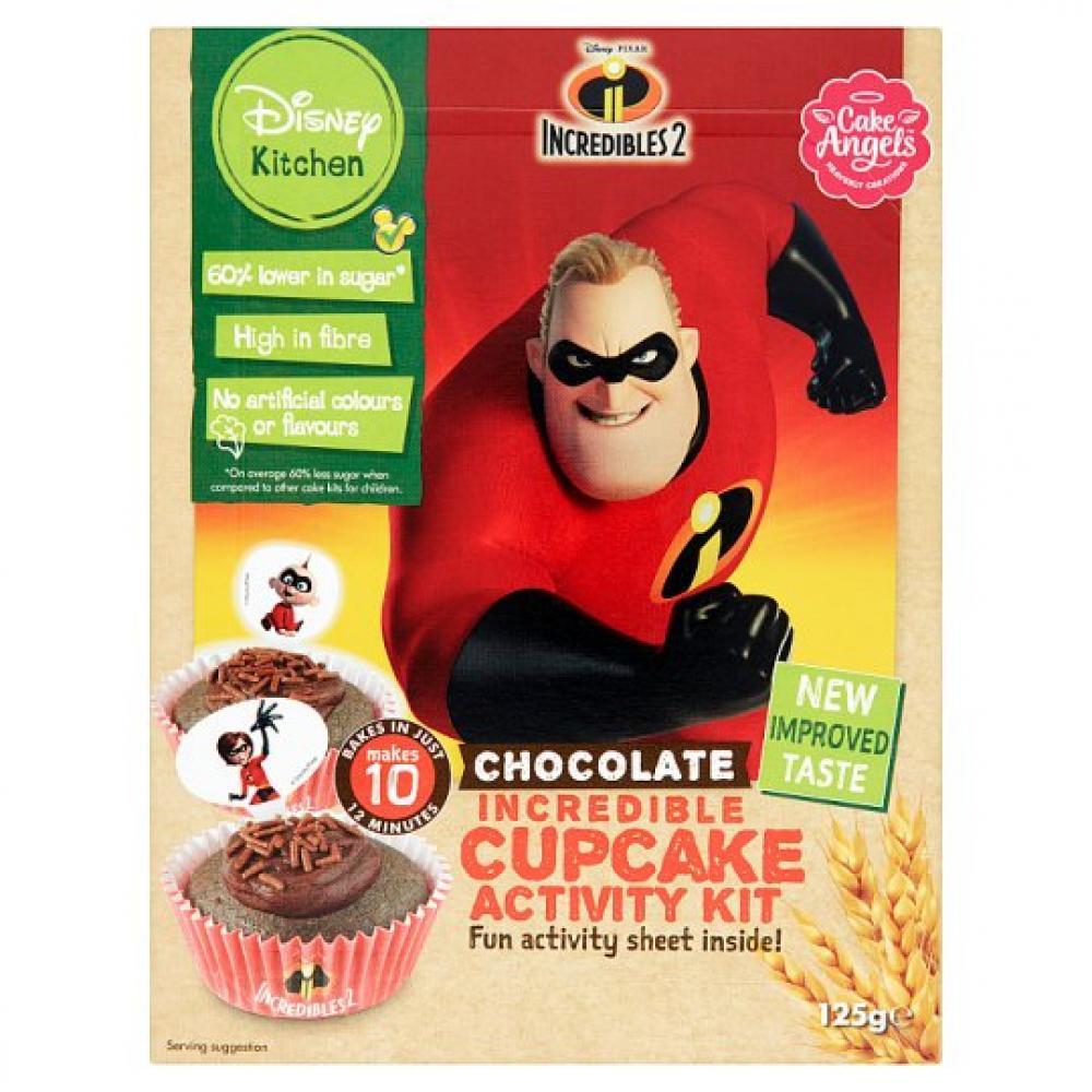 Disney Incredibles Chocolate Cupcake Activity Kit 125g