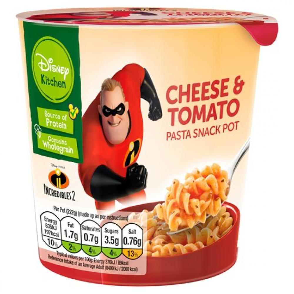 Disney Kitchen Cheese and Tomato Pasta Pot 50g