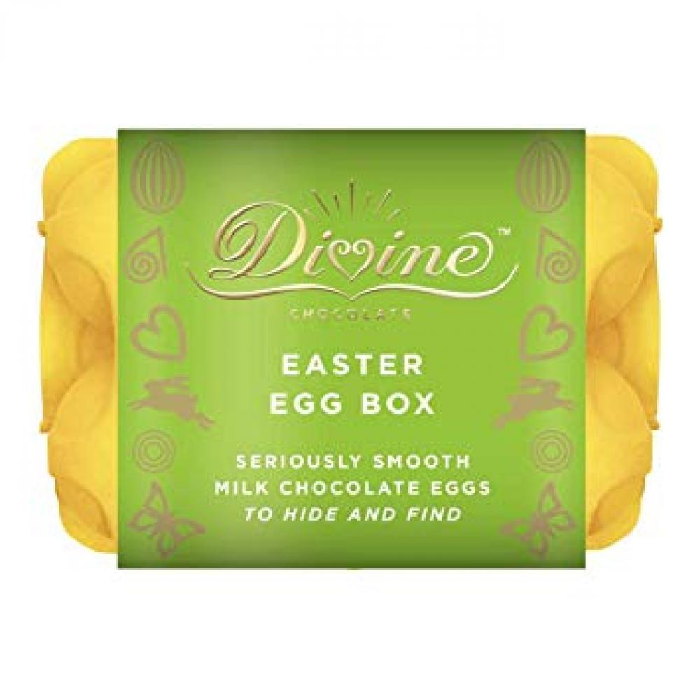 Divine Chocolate Six Golden Eggs Box