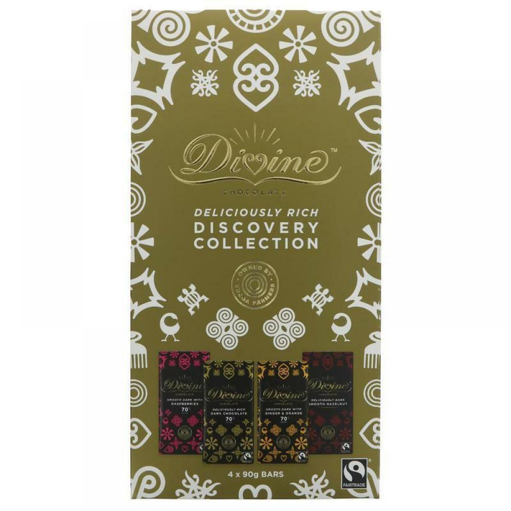 Divine Dark Collection 90g x 4